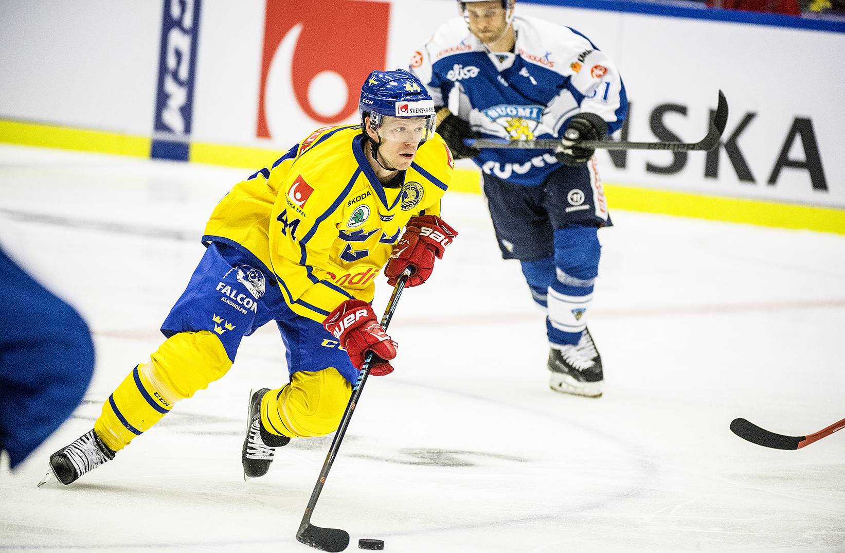 Sverige-Finland, Euro Hockey League