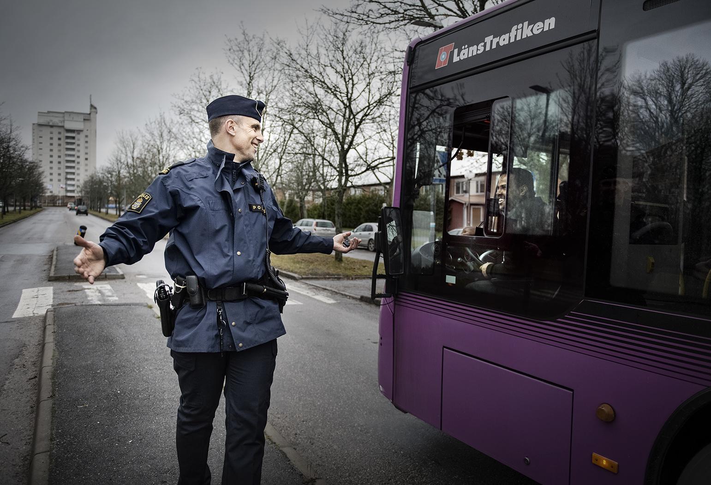 Fredrik Malm, Polis i Vivalla, Örebro