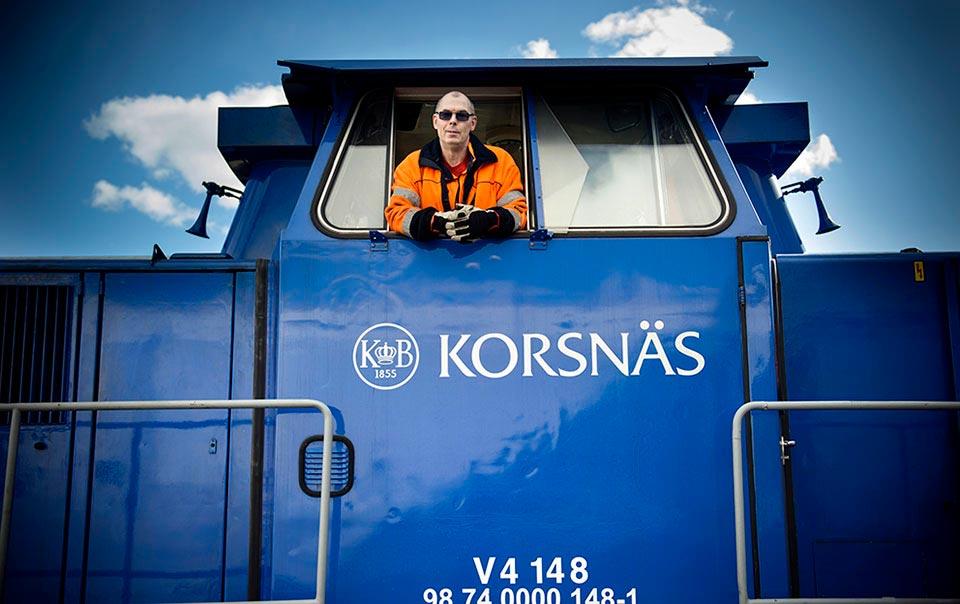 Lokförare Korsnäs.
