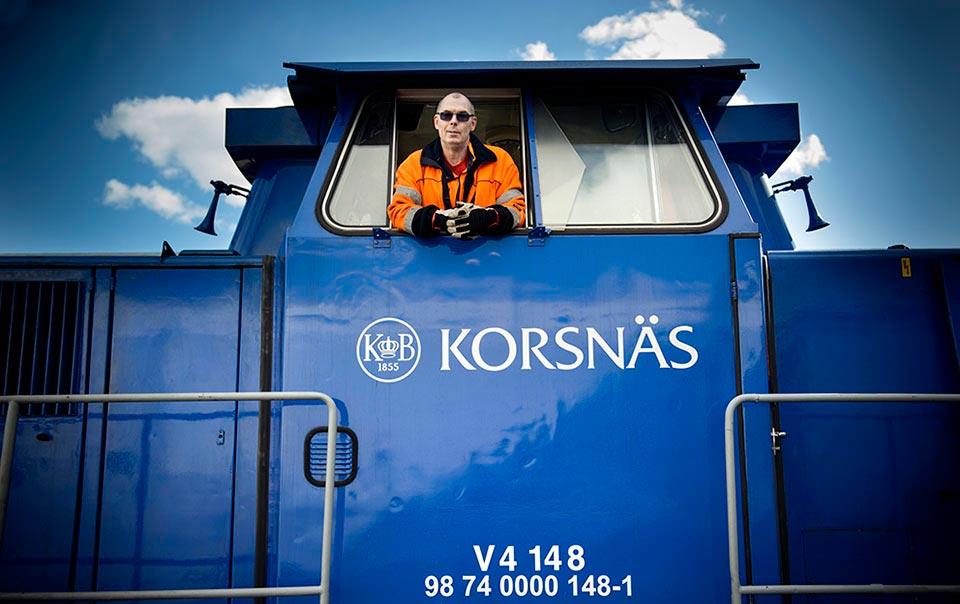 Reportage till Dagens Arbete, Korsnäs inför kommande pappersavtal.