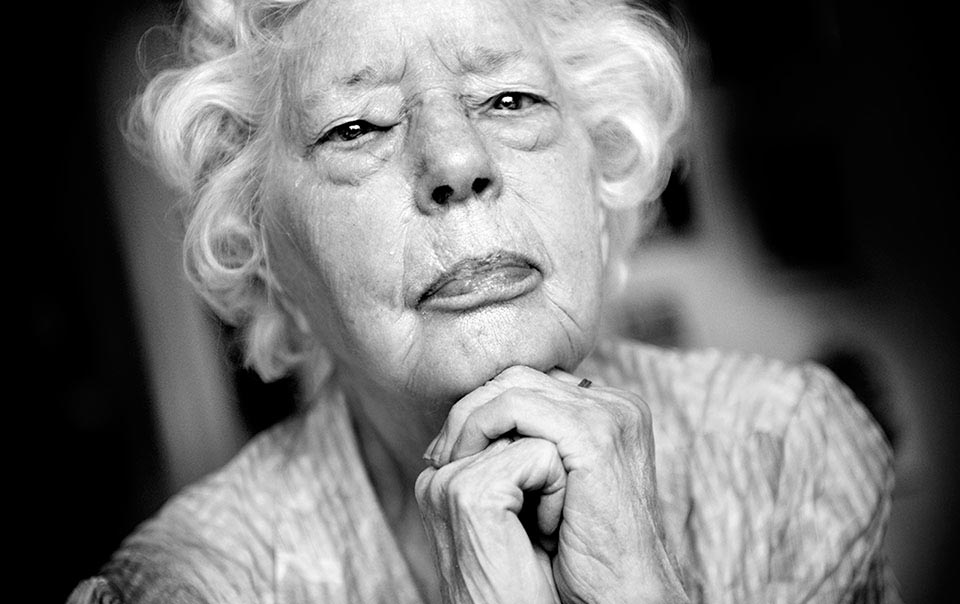 Stina Ottosson, 100 år.