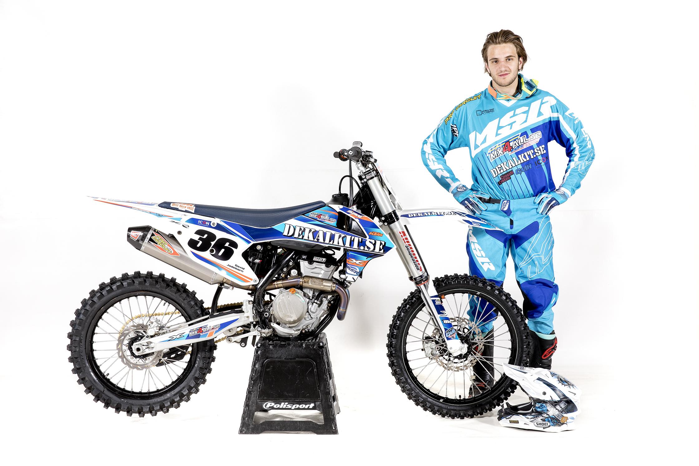 David Jadeborn, motocrossförare.