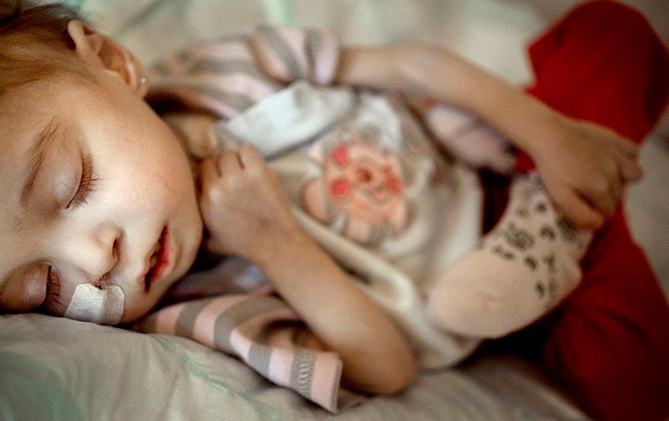 Rim är hemma men fortfarande inskriven på USÖ. All medicinering förrutom smärtstillande har upphört och man utför nu palliativ vård.
