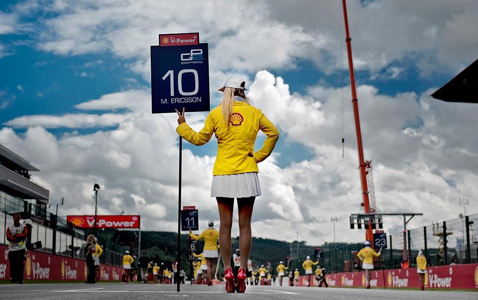 GP2 Spa Francorchamps Belgien.