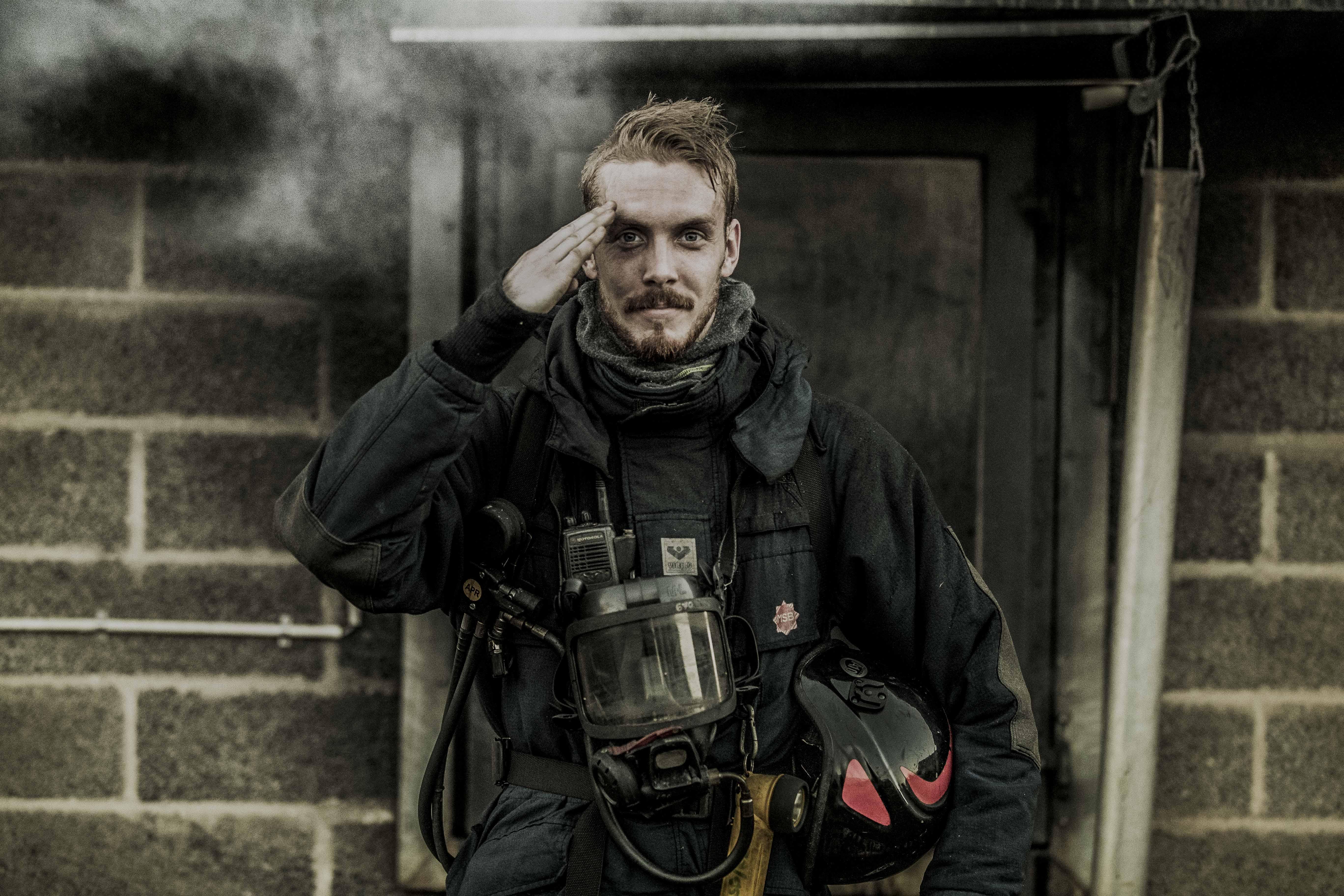 MSB revinge, brandman