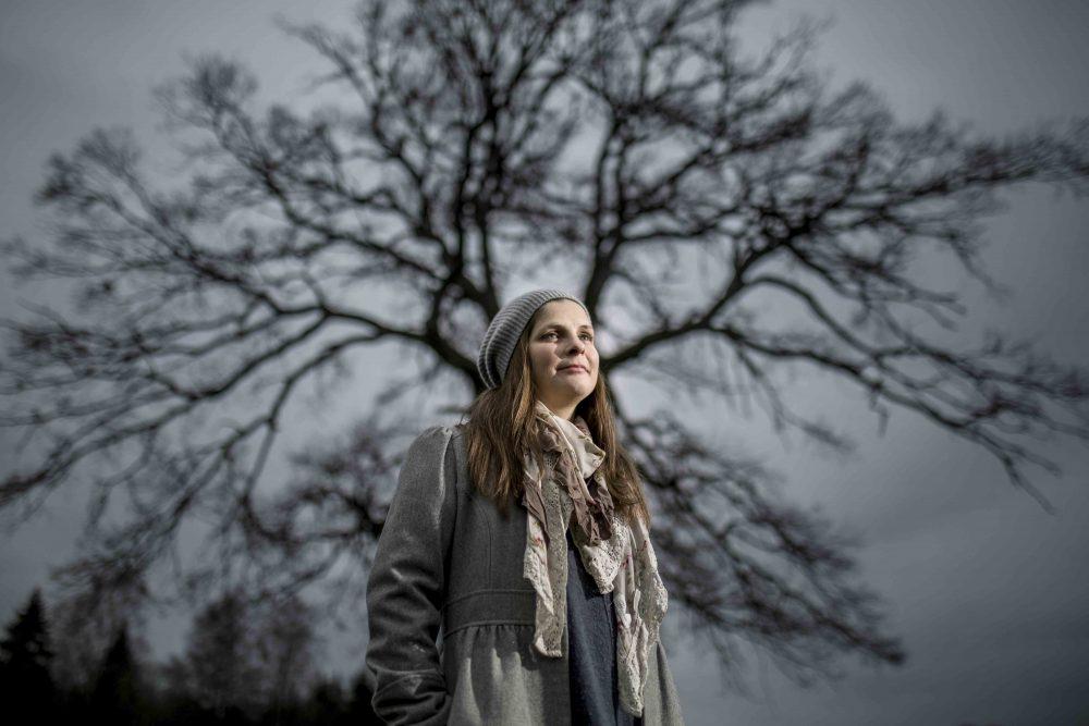 Susanne Tell, psykiskt ohälsa, ung kvinna, porträtt